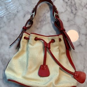 Vintage Dooney & Bourke bag- red